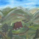 Widoczek górski