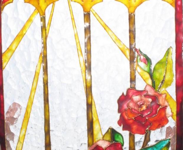 Malowanie witraży-drobiazgi; uwagi ogólne