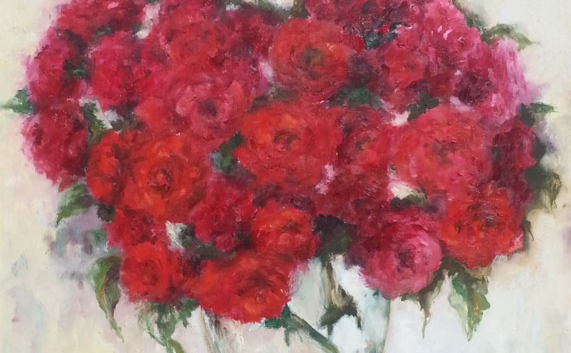 Kolory czerwieni-róże