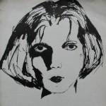 Kobieta-szkic