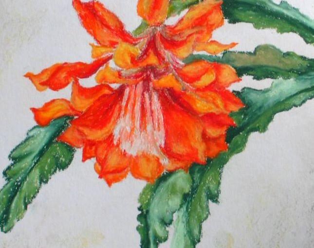 Malowanie pastelami olejnymi